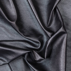 Black Two Way Stretch Vinyl Fabric - Fashion Fabrics Los Angeles