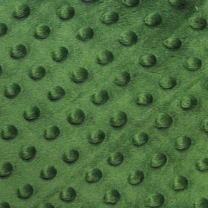 Green Minky Dimple Dot Fabric - Fashion Fabrics Los Angeles