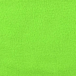Lime Green Solid Anti Pill Polar Fleece Fabric - Fashion Fabrics Los Angeles