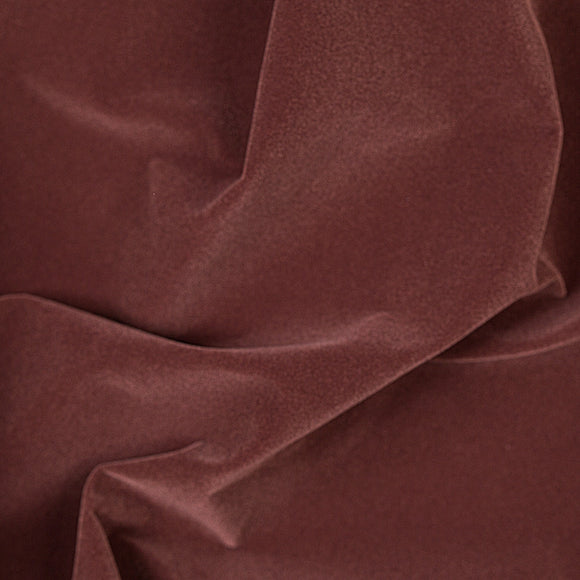 Solid Brown Velvet Flocking Fabric