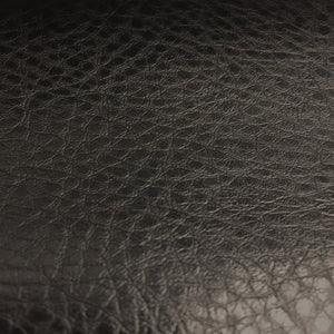 Black Henry Semi Glossy PU Leather Vinyl Fabric - Fashion Fabrics Los Angeles