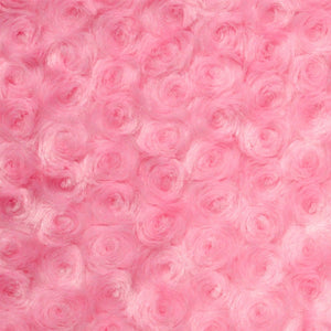 Pink Swirl Rose Bud Fabric