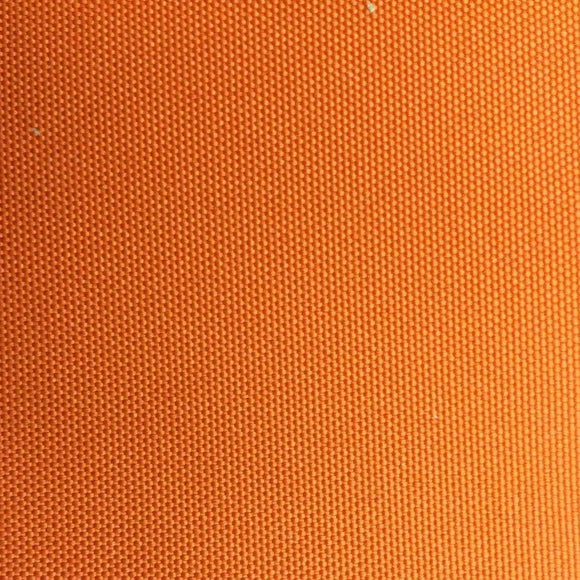 Solid Orange Outdoor Canvas Fabric