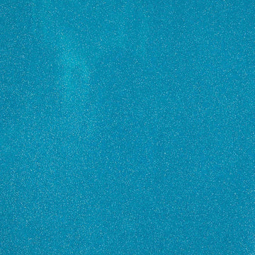 Turquoise Sparkle Glitter Vinyl Fabric - Fashion Fabrics Los Angeles
