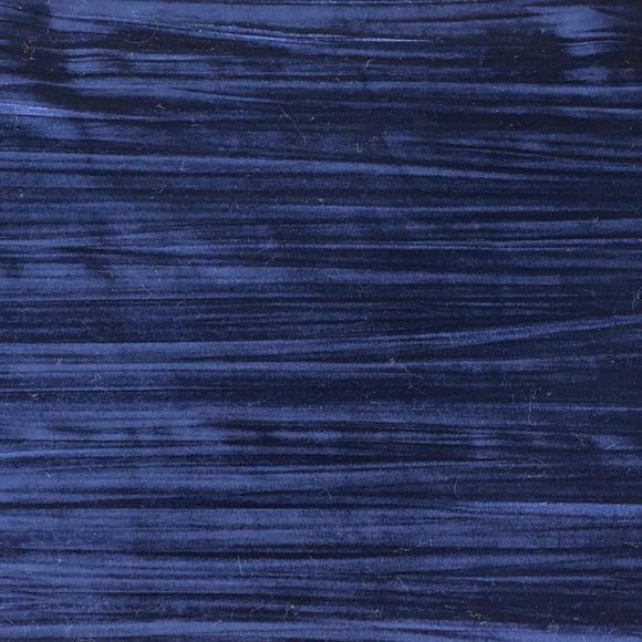 Navy Blue Crinkle Stretch Velvet Fabric - Fashion Fabrics Los Angeles