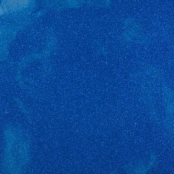 Royal Blue Sparkle Glitter Vinyl Fabric
