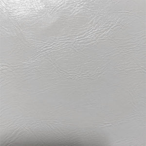 White Distressed Faux Leather Fabric