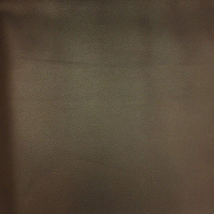 Brown Faux Leather Pigskin Fabric