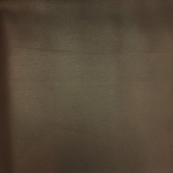 Brown Faux Leather Pigskin Fabric - Fashion Fabrics Los Angeles