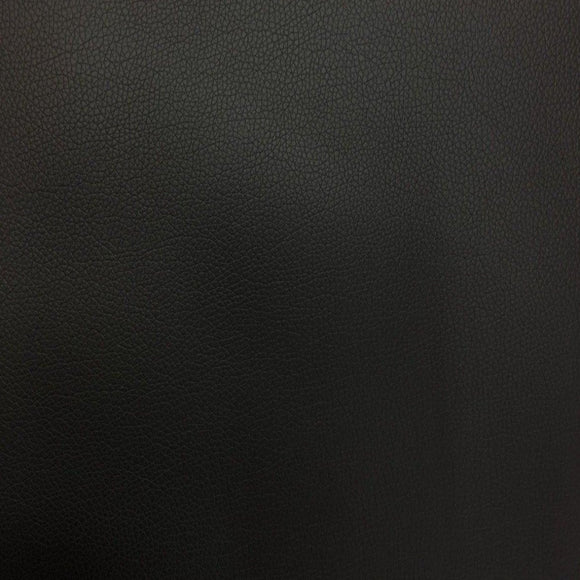 Black Faux Leather Pigskin Fabric - Fashion Fabrics Los Angeles
