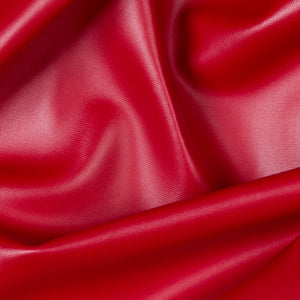 Red Soft Skin Vinyl Fabric