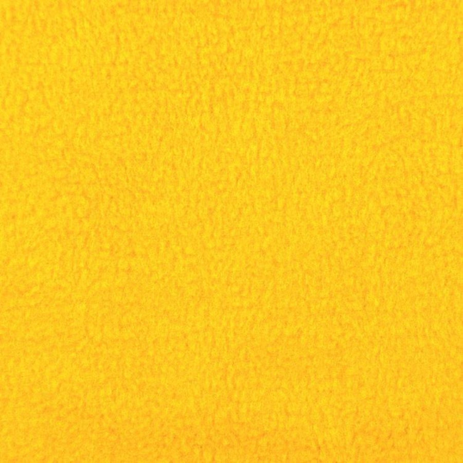 Yellow Solid Anti Pill Polar Fleece Fabric - Fashion Fabrics Los Angeles