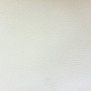 Vinyl Faux Leather Pigskin White - Fashion Fabrics Los Angeles