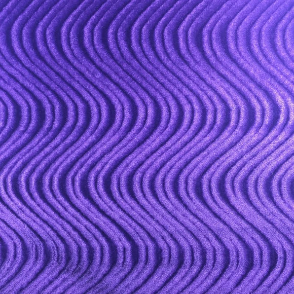 Dark Purple Swirl Velvet Flocking Fabric - Fashion Fabrics Los Angeles