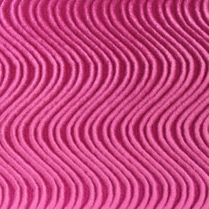 Hot Pink Swirl Velvet Flocking Fabric - Fashion Fabrics Los Angeles