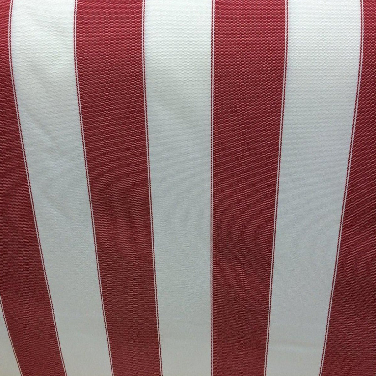 Red White Striped Anti Uv Outdoor Striped Fabric