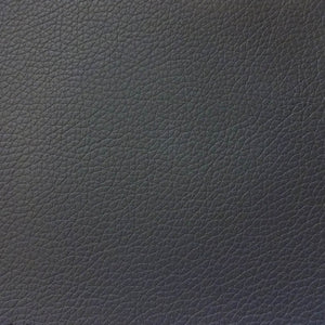 Vinyl Faux Leather Pigskin Charcoal - Fashion Fabrics Los Angeles