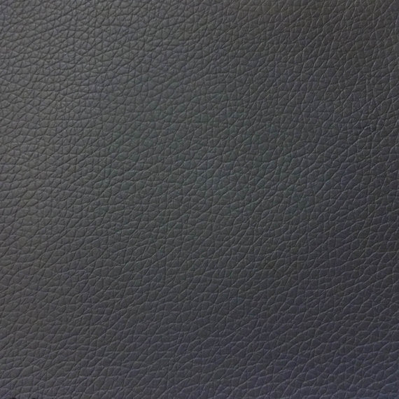 Vinyl Faux Leather Pigskin Charcoal
