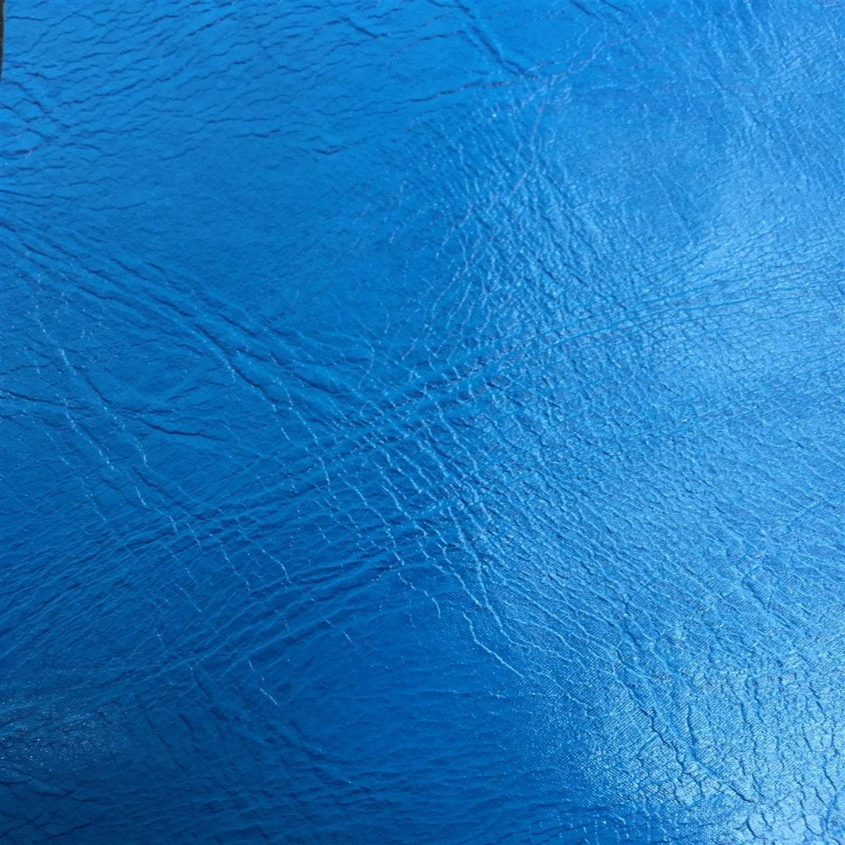 Baby Blue Distressed Faux Leather Fabric