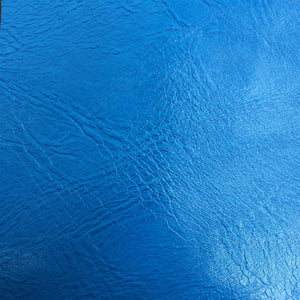 Baby Blue Distressed Faux Leather Fabric - Fashion Fabrics Los Angeles