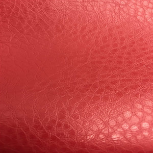 Red Henry Semi Glossy PU Leather Vinyl Fabric