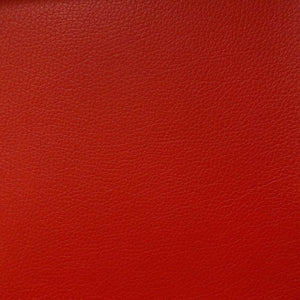Vinyl Faux Leather Pigskin Red - Fashion Fabrics Los Angeles