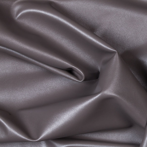 Charcoal Two Way Stretch Vinyl Fabric - Fashion Fabrics Los Angeles