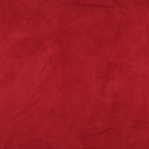 Red Micro Suede Fabric