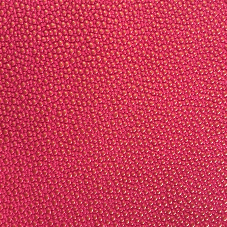 Hot Pink Gold Pebbled Dotted Vinyl Fabric - Fashion Fabrics Los Angeles
