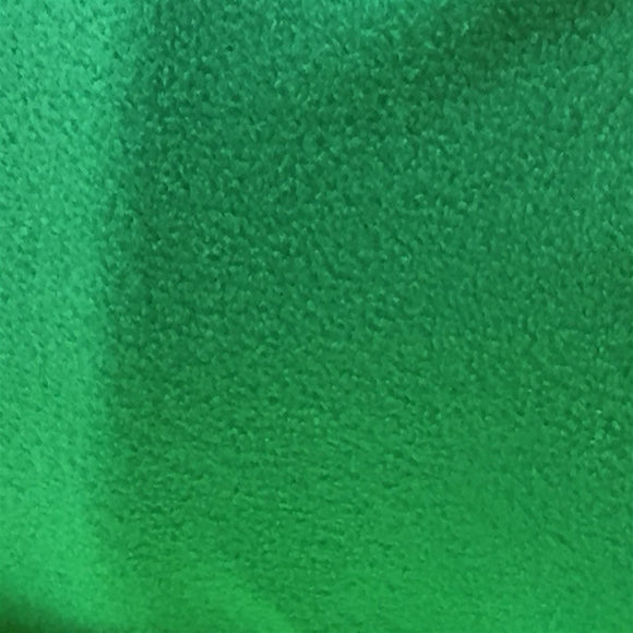 Kelly Green Solid Anti Pill Polar Fleece Fabric - Fashion Fabrics Los Angeles