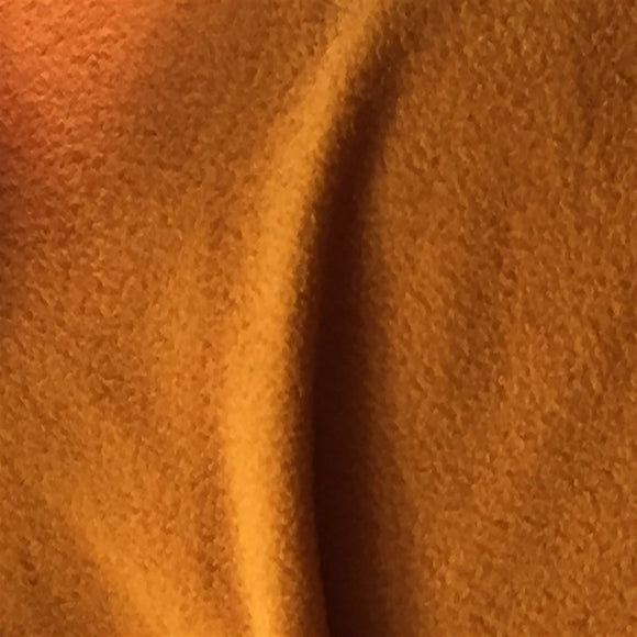 Copper Solid Anti Pill Polar Fleece Fabric - Fashion Fabrics Los Angeles
