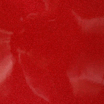 Red Sparkle Glitter Vinyl Fabric - Fashion Fabrics Los Angeles