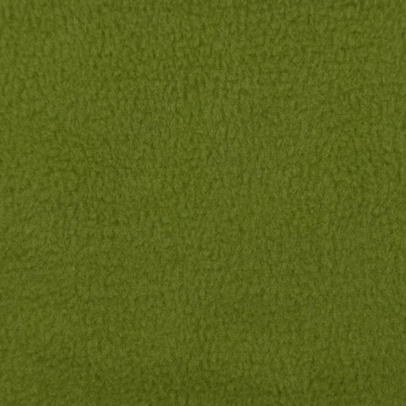 Olive Solid Anti Pill Polar Fleece Fabric - Fashion Fabrics Los Angeles