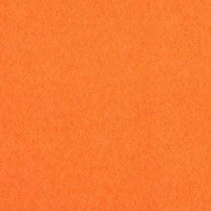 Neon Orange Solid Anti Pill Polar Fleece Fabric