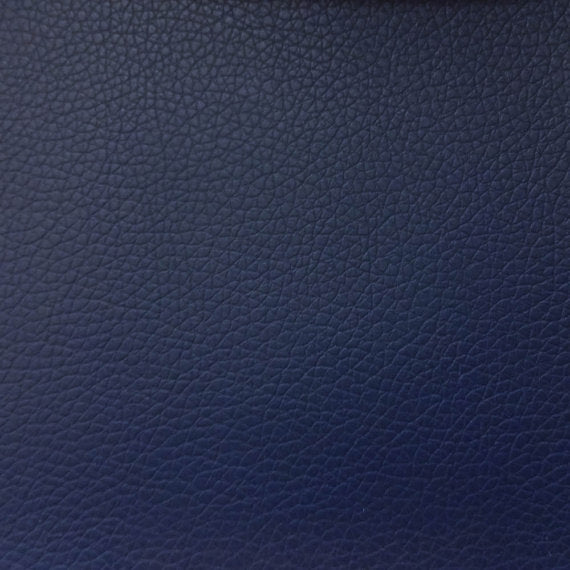 Vinyl Faux Leather Pigskin Navy - Fashion Fabrics Los Angeles