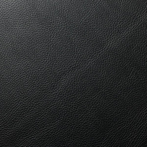 Black Doheny PVC Faux Leather Vinyl Suede Backing Fabric - Fashion Fabrics Los Angeles
