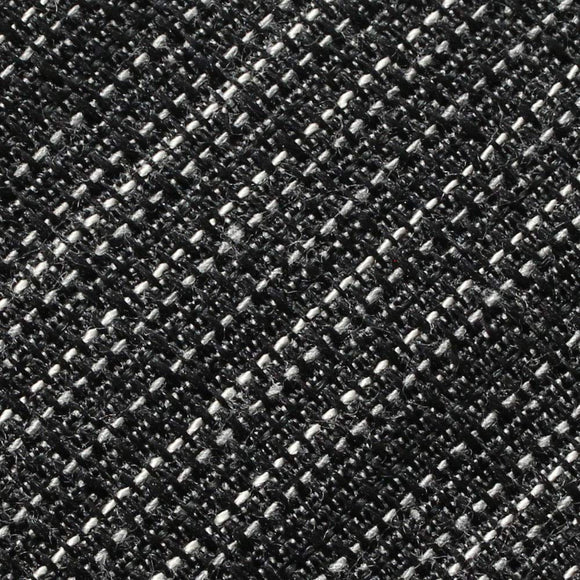 Black White Two Tone Baby Linen Fabric - Fashion Fabrics Los Angeles