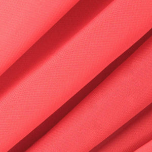 Coral Stretch Chiffon Fabric - Fashion Fabrics Los Angeles