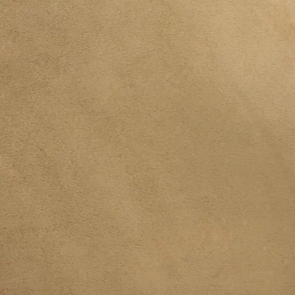 Camel Smooth Minky Faux Fur Fabric