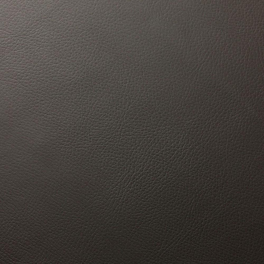 Cedar Gray Robertson Faux Leather Vinyl Suede Backing Fabric - Fashion Fabrics Los Angeles