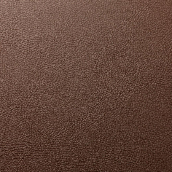 Coffee Brown Robertson Faux Leather Vinyl Suede Backing Fabric - Fashion Fabrics Los Angeles