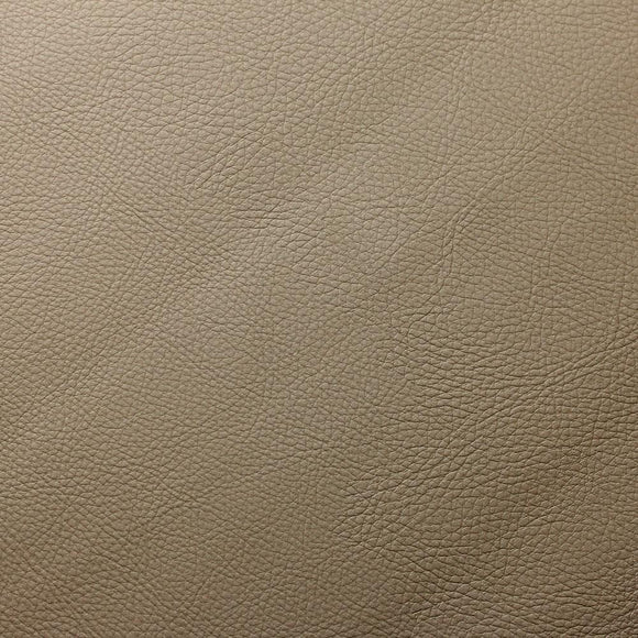 Cream Doheny PVC Faux Leather Vinyl Suede Backing Fabric - Fashion Fabrics Los Angeles