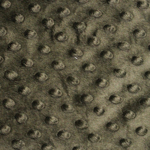 Dusty Olive Minky Dimple Dot Fabric - Fashion Fabrics Los Angeles