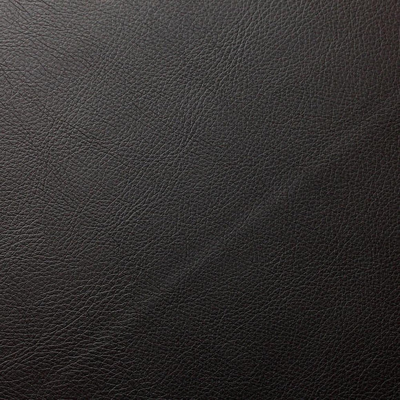 Dark Brown Doheny PVC Faux Leather Vinyl Suede Backing Fabric - Fashion Fabrics Los Angeles