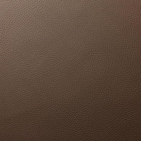 Dark Peanut Brown Robertson Faux Leather Vinyl Suede Backing Fabric - Fashion Fabrics Los Angeles