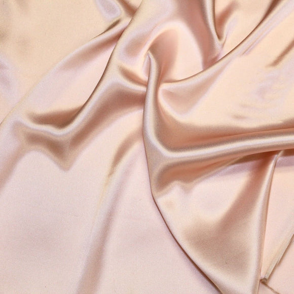 Dusty Rose Pink Silk Charmeuse Fabric - Fashion Fabrics Los Angeles