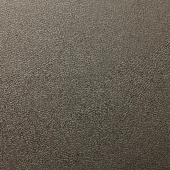 Gray Cannon PVC Faux Leather Vinyl Suede Backing Fabric - Fashion Fabrics Los Angeles