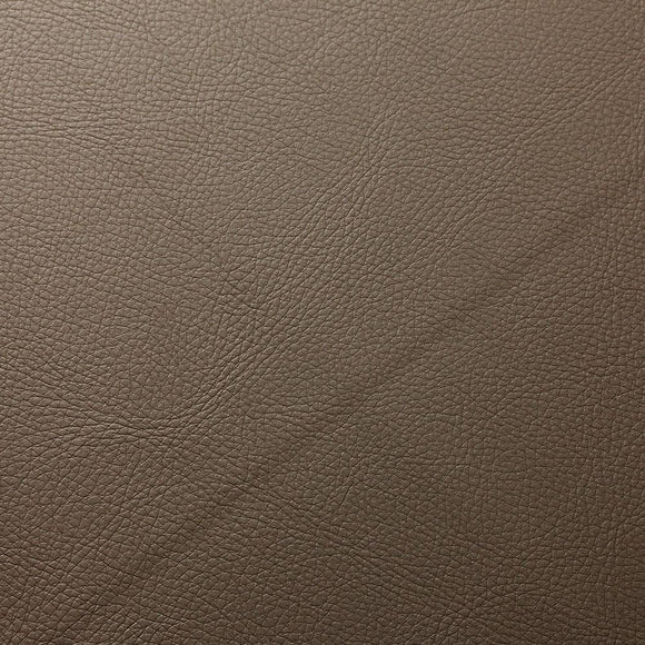 Hazelnut Brown Doheny PVC Faux Leather Vinyl Suede Backing Fabric - Fashion Fabrics Los Angeles