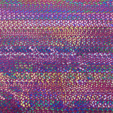 Neon Pink Tie Dye Hologram Scale Snake Skin Nylon Spandex Fabric - Fashion Fabrics Los Angeles