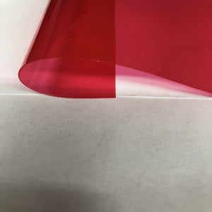 Fuchsia Marine PVC Tinted Plastic Vinyl Fabric - Fashion Fabrics Los Angeles